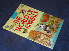 Tell Me About: THE WORLD OF ANIMALS Tom Stacy PB 1st 1991 Childs question/answer