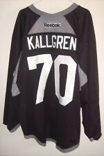 ARIZONA COYOTES Erik Kallgren worn black RBK goalie jersey NOB 2017 rookie camp