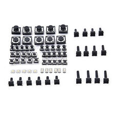 140pcs momentary tactile push button switch micro SMD SMT tact switches 14 types