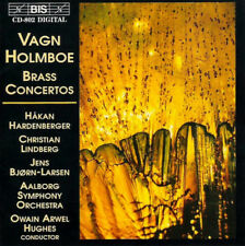 Vagn Holmboe - Brass Concertos - CD (1996) - Very Good Condition