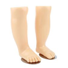 Pair Baby Kids Feet Mannequin Foot Model Socks Display Foot with Magnet