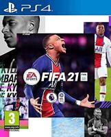 FIFA 21 PS4 SIGILLATO GIOCO NUOVO DI ZECCA FULL ITALIANO CON DISCO PLAYSTATION 4