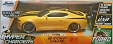 Hyper Chargers Big Time Muscle RC Chevy Camaro SS Vehicle 1:16 Scale Yellow NEW