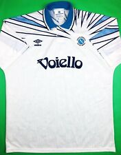 Umbro SSC NAPOLI 1991/93 XL Away Soccer Jersey Football Shirt Calcio Maglia