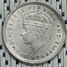 *GOOD Grade* 1945 - Malaya - 5 Cents George VI Silver #CNH