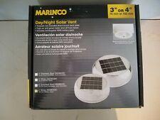 "Marinco Day/Night Solar Vent, 4"", White, N20804W"