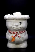 Pillsbury Dough Boy Poppin Fresh Winking Bobby Baker Rare White Hat Cookie Jar
