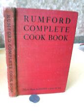 RUMFORD COMPLETE COOKBOOK,1943,Lily Hayworth Wallace.Illust