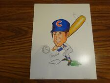 Ron Santo 1972 Chicago Cubs 11x14 Caricature Chi-Foursome Inc.