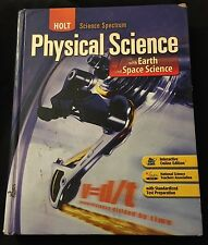 Holt Spectrum Physical Science Earth Space USED Acceptable 2008 0030672139