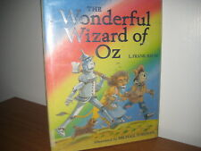 Wonderful Wizard of Oz/ Frank Baum/ Michael Foreman/  hardback/ jacket/ 2005