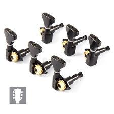 Hipshot Guitar Classic Tuner PRS Upgrade Kit 3+3 Open-Gear UMP Kit  3x3 - BLACK