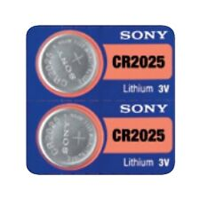 2 SONY CR2025 DL2025 CMOS Lithium 3V Watch Battery Exp 2025 Ships FREE from USA!