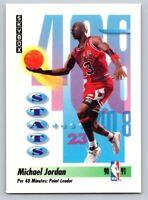 1991 Skybox #307 Michael Jordan Chicago Bulls NBA Basketball Point Leader HOF