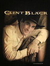 Vintage Clint Black Concert Tour Country Music 1997 90's  T Shirt M