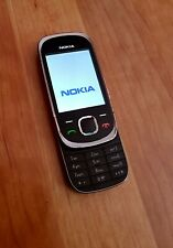 Original Nokia 7230 slider celular en negro/plata