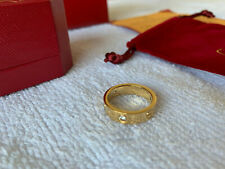 NEW Cartier Love Ring 750 18K Yellow Gold Size 7
