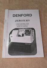 Denford Zeroturn CNC Slant Bed Lathe Manual