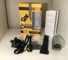 1080P Sports Helmet Action Camera Bullet With Laser light and torch Motor cycle