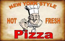 New York Sign Pub Sign Cafe Sign Pizza Sign Design Metal Door Sign Kitchen Sign