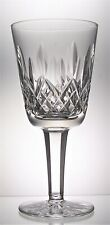 Single Signed WATERFORD Lead Crystal LISMORE Cut White Wine Glass 130 ml, 14 cm