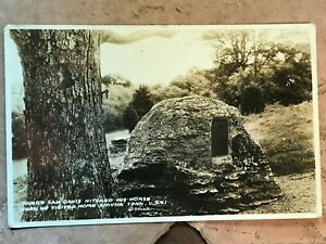 Smyrna Tennessee US 41 Sam Davis site Vintage Real Photo Postcard 1934 by Cline