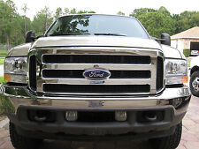 2007 Ford CHROME Grille CONVERSION Fits 99-2004 F-250 F-350, up to 04 Excursion