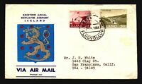 Iceland 1968 Airmail Cover to USA - Z16606