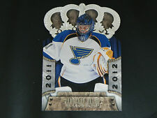 2011-12 Crown Royale #82 Jaroslav Halak St. Louis Blues