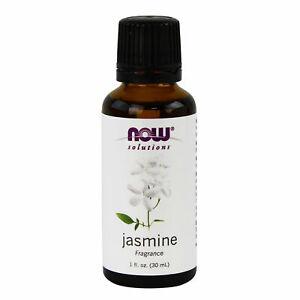 NOW Jasmine Fragrance 1oz 30ml  Essential Oil FRESH, Made In USA