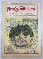 1905 The New Southwest Magazine San Antonio Sedalia Alton Alexandria +