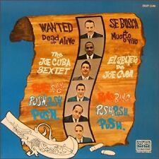 JOE CUBA Wanted Dead or Alive with Bang Bang & Push Push Push sealed vinyl LP