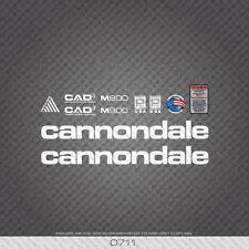0711 Cannondale M900 Bicicletta Adesivi-Decalcomanie-Trasferimento-Bianco