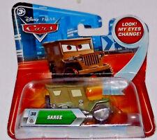Greta Sarge Disney Store Pixar Cars: R.S. Loose Mike /& More *Displayed Only*
