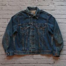 Vintage Levis Type 3 Big E Denim Trucker Jacket Made in USA 60s 70s