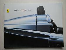 Prospekt Ferrari 360 Spider, Druck 1602/00, 48 Seiten, 4-sprachig, 33x25 cm