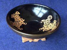 Song Dynasty Jian Yao Hei You Tie Hua (建窑黑油贴花)Bowl