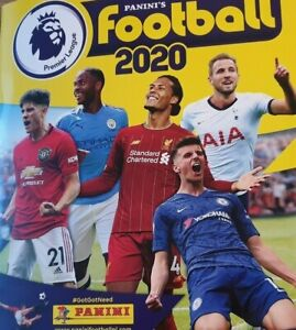 PANINI FOOTBALL 2020 PREMIER LEAGUE STICKER COLLECTION NUMBERS 225 - 404