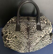 YSL TOTE BAG. Genuine, Amazing Condition, Grey/black animal Print/pony Skin