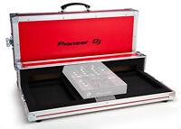 Flightcase Pioneer für Cdj 350 und Djm 250 - Original Logo Pioneer Farbe Rot