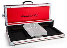 Flightcase Pioneer per CDJ 350 e DJM 250 -  Originale Logo Pioneer Colore Rosso
