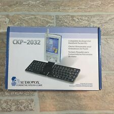 Audiovox CKP-2032 PDA Collapsible Keyboard for Handheld PC Parts Spare F-18