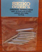 =  22mm GENUINE Seiko DIVER Thick Spring Bars/ Pins JAPAN