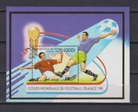 S7113) Benin 1997 MNH Wc Football '98- World Cup Football S/S
