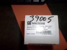 Cutler-Hammer htm-07 Mor Relay aktuelle Modul Modell B 1d89108g07 (wl19)