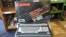 RARE VINTAGE CANON V20 MSX COMPUTER SYSTEM (BNIB MINT)