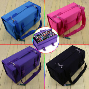 120 Slots Marker Pen Storage Case Carrying Bag Holder Organizer For Touch 2018