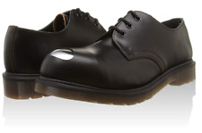 Dr Martens Petri Black Leather Oxford Shoes Steel Toe Women's US 7.5 US NEW