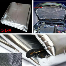 Car Auto Exhaust Muffler Turbo Heat Shield Pad Insulation Hood Cotton Wrap Mat