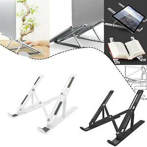 Adjustable Laptop Stand Folding Portable Desktop iPad Holder Office Support UK